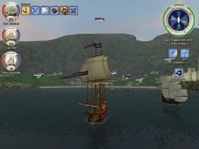 Корабль на мышке игры